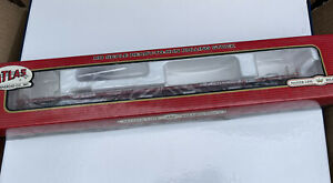 """ATLAS HO SCALE ACF 89' 4"""" FLAT CAR PROVIDENCE & WORCESTER P&W# 1050925"""