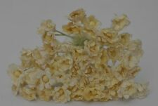 Mulberry Paper Gypsophila Bead center IVORY miniature for doll house decoration