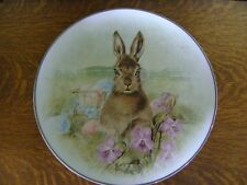Pottery Barn Meadow Bunny Serving Platter Low Cost Shipping New In Box