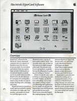 ITHistory (1987)  Brochure/PIC/Press Releases: APPLE HYPERCARD  Q