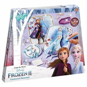 Kreativ Set 3D Karten | Basteln mit Strasssteinen | Disney Frozen Eiskönigin