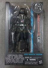 """Darth Vader STAR WARS The Black Series 6"""" Figure AUTHENTIC #02 02"""