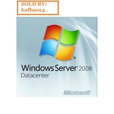 Windows Server 2008 R2 DATACENTER + RDS 20 USER/DEVICE CALS (2 Licenses PACK)