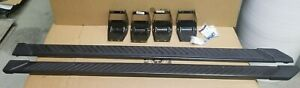 """OEM 2015-2020 Ford F150 Truck Running Boards Magnetic Grey 5"""" Crew Cab New T/Off"""