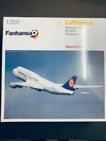 1/200 Herpa Lufthansa Boeing 747-8 Intercontinental Fanhansa D-ABYI Potsdam NEU