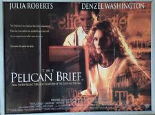 Cinema Poster: PELICAN BRIEF, THE 1993 (Quad) Julia Roberts Denzel Washington