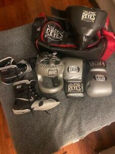 cleto reyes boxing bundle silver USED ONCE. STILL NEW CONDITION.