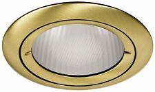 SPOT A ENCASTRER FIXE IP44 pour Ampoule 12V culot GY6.35, finition Bronze
