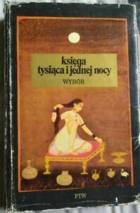 KSIEGA TYSIACA I JEDNEJ NOCY wybor   Polish book polska ksiazka   Hardback 1977