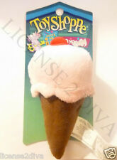STRAWBERRY WAFFLE CONE WITH CHERRY ON TOP CAT TOY WITH CATNIP TOY SHOPPE NEW