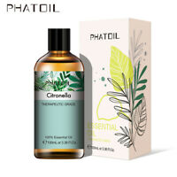 PHATOIL 100ML Citronella Pure Aromathérapie Huiles Essentielles Bio Avec Boite