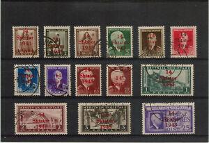ALBANIA n° 289/302 used value 300 €