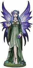 "9.25"" Mystic Aura Fairy Statue Figure Gothic Fantasy Figurine Anne Stokes"