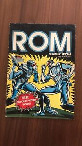 Marvel UK Comics Presents ROM spaceknights summer Special