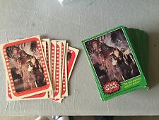 Vintage 1977 STAR WARS TOPPS cards set Series 4 with 66 cards/stickers, FREE S&H
