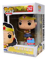 Funko Pop #242 Wonder Woman DC 2018 Fall Convention Exclusive w/ Pop Protector