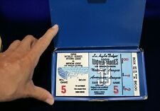 50th Anniversary Dodgers First Championship Los Angeles Ceramic Replica Ticket