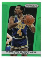 2013-14 Panini Prizm Prizms Green Utah Jazz Basketball Card #238 Adrian Dantley