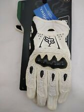 New FOX RACING Bomber Glove / 03009-008-015 / White / Small
