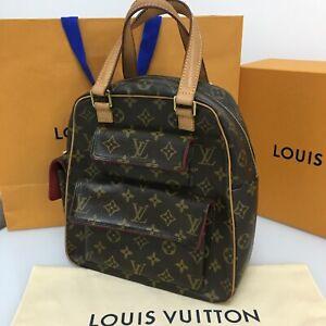 LOUIS VUITTON France 💯% Authentic Excentri-Cite Small Bag Handbag Purse Satchel