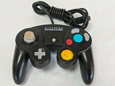 Controller Black Wired OFFICIAL Genuine Nintendo GameCube & Wii System Indigo