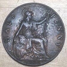 Great Britain 1920 Half Penny; KM-809; XF (#g43)