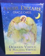 ANGEL DREAMS ORACLE CARDS DOREEN VIRTUE & MELISSA VIRTUE With Guidebook OOP