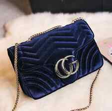 New Style Embroidery designer bags Marmont brand women bags Blue 2016