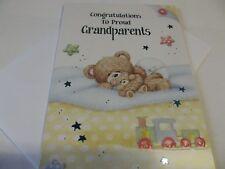 Congratulations To Proud Grandparents...........Congratulations Greetings Card