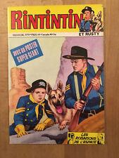 RINTINTIN numéro 93 (octobre 1977) - Neuf avec poster Rintintin attaché