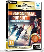 Paranormal Pursuit Gifted One PC Game Hidden Object Adventure Puzzle Mystery NEW