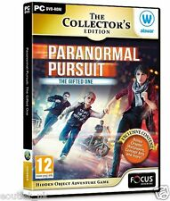 Paranormal Pursuit Gifted One Collectors Edition Hidden Object Puzzle Game PC