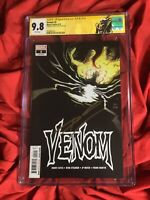CGC 9.8~VENOM #2~1st PRINT COVER A~SIGNED BY DONNY CATES+CUSTOM VENOM CGC LABEL