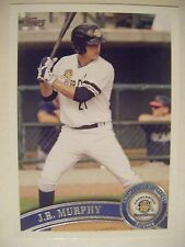 JOHN RYAN MURPHY 2011 Topps Pro Debut baseball card TWINS YANKEES JR RC #330 QTY