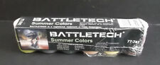ral partha battletech summer paint kit 77-741 brand new ultra rare