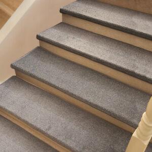 1 X Plain Stair Treads Non-Slip Rug Self Adhesive Carpet Indoor Safety Floor Mat