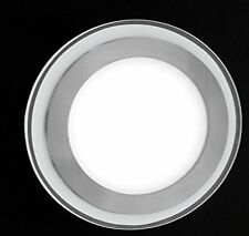 Rotondo Led Vetro Plafoniera Piatto Calce 6W Lampada Terra da Cucina Honsel