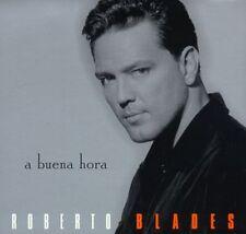 Audio CD - ROBERTO BLADES - A Buena Hora - DIGIPAK - Very Good (VG) WORLDWIDE