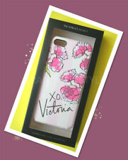 Victoria's Secret XO Victoria iPHONE PINK/WHITE Floral CASE with iPhone 5/5S NEW