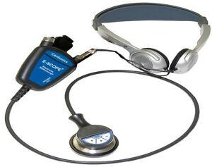 Cardionics E-Scope II Electronic Headset Stethoscope