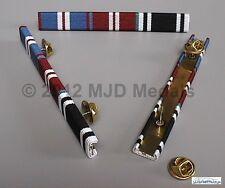 More details for golden jubilee + diamond jubilee + prison officers long service medal ribbon bar