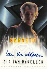 Topps X-Men Movie Rare Sir Ian McKellen as Magneto Auto Card