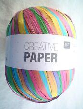 Rico CREATIVE PAPER Yarn # 15 TROPIC MIX Fun! 50 Grams