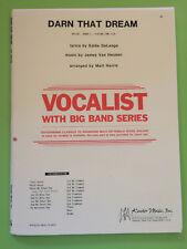Darn That Dream, James van Heusen, arr. Matt Harris, Big Band Arrangement