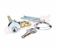 Garage Door Lock Cylinder with Mounting Hardware