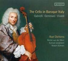 THE CELLO IN BAROQUE ITALY: GABRIELLI, MARCELLO, VIVALDI NEW CD