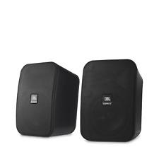 JBL Control X 2-Way 5-1/4-inch Monitor Indoor/Outdoor Speaker (Pair), Black NEW!