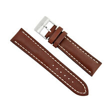 Breitling Brown Leather Strap 11mm - 20 mm - 22mm 437X-A20BA.1