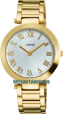 LORUS Watch, Gold Tone, WR, Ladies, RRW82EX-9