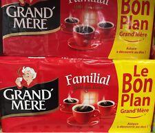 Lot revendeur destockage de 8 Paquets De Café Grand Mère Dlc Longue